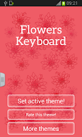 Screenshot of Keyboard Flowers
