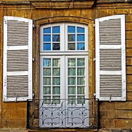 Window balcony by Michael Moore - Buildings & Architecture Architectural Detail ( window, balcony,  )