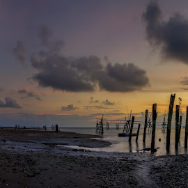 Pano Sunrises Kpg Buntal by Paul Alexander - Landscapes Sunsets & Sunrises