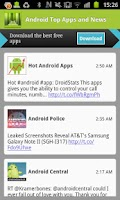 Screenshot of Android Top Apps and News