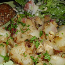Apple and Chicken Hash