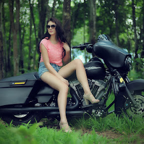 My Harley by Surya Hidayat HB - People Fashion