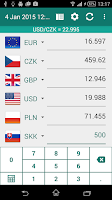 Screenshot of Currency converter plus