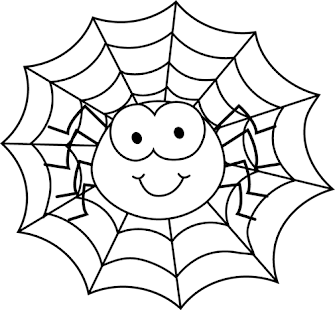 HALLOWEEN COLORING PAGES - screenshot