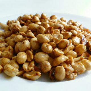 Sweet, Salty, Smoky Nuts