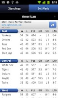 Screenshot of Sports Scores & Alerts