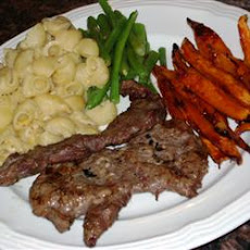 Grilled or Fried Skirt Steak