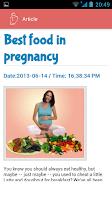 Screenshot of Pregnancy Guide