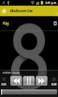 Screenshot of 8Radio.com