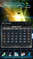 Screenshot of Next Calendar Widget