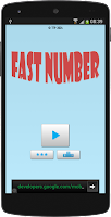 Screenshot of Fast Number - How fast you are