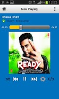 Screenshot of Hungama Music Cloud