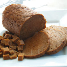 Baked Seitan Log
