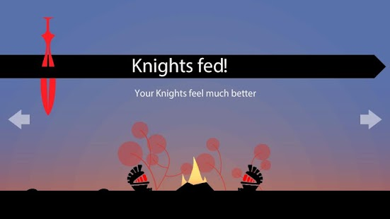 Knights - lead with gestures