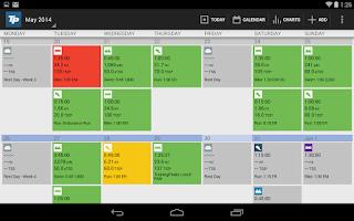 Screenshot of TrainingPeaks
