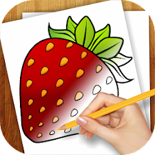 Learn to Draw Exotic Fruits