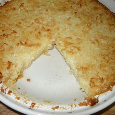 Mama's Amazingly Easy Coconut Pie