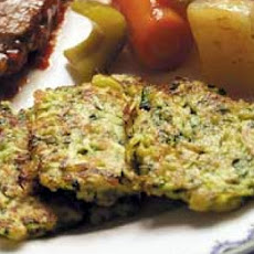 Herbed White Bean and Zucchini Latkes