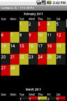 Screenshot of Fire Shifts - Free