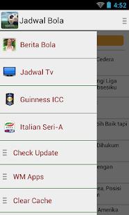 Jadwal Bola- screenshot thumbnail