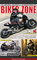 Screenshot of BIKER ZONE MAGAZINE