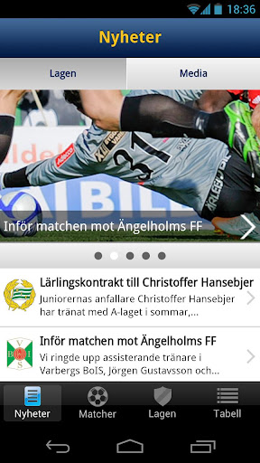 Superettan Officiell