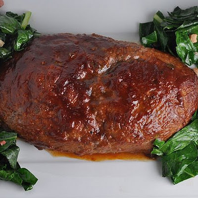 Meatloaf with Homemade Barbecue Sauce