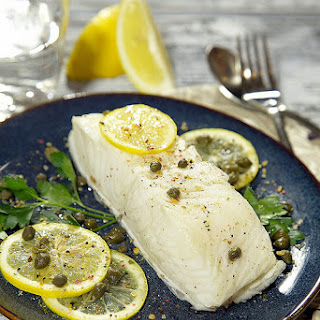 Slow Cooker Coconut Milk Poached Fish Fillets