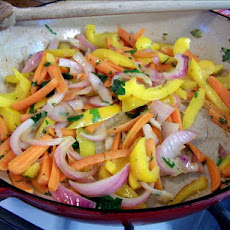 Flash in the Pan Veggie Medley