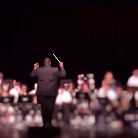 He who brings them together by Bridget Wegrzyn - News & Events Entertainment ( band, orchestra, director,  )
