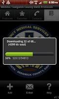 Screenshot of Wichita/SG Co. EMSS Protocols