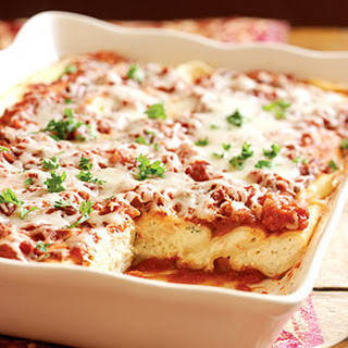 Three Cheese Manicotti