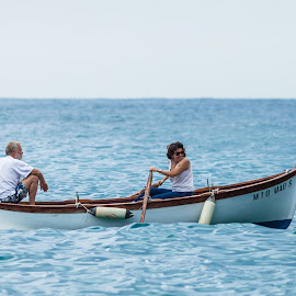 Rowing by Cesare Morganti - People Couples