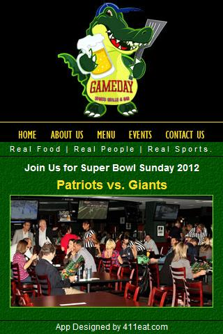 Gameday Sports Grille Bar Ap