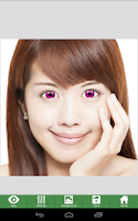 Screenshot of NiceEyes - Eye Color Changer