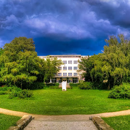 Universizy Of Economy by Branko Meic-Sidic - City,  Street & Park  City Parks ( hdr, croatia, economy, jfk, square, zagreb )