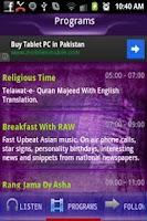 Screenshot of Radio Asian World