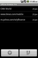 Screenshot of Offline Browser Pro