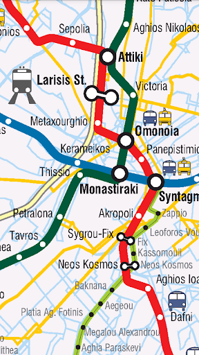 Athens Public Transport Pro - screenshot