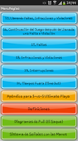 Screenshot of Reglas de Ultimate WFDF