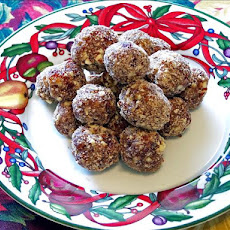 Gingered Date Balls - No Cook