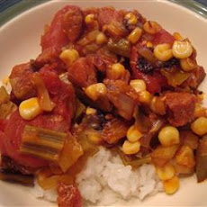 Hearty Creole Okra and Tomatoes