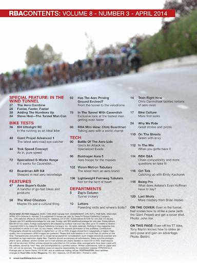 Road Bike Action Magazine - screenshot