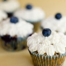 Blueberry Granola Chocolate Chunk Cupcakes