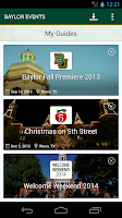 Screenshot of Baylor University