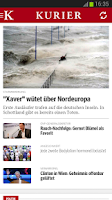 Screenshot of KURIER.at