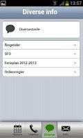 Screenshot of SkoleInfo