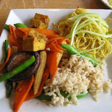 Vegetable and Tofu Stir-fry