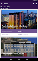 Screenshot of SPG: Starwood Hotels & Resorts