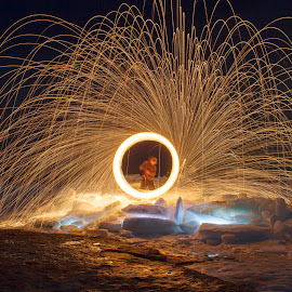 Fire and Ice part two by Blackswamp InterceptTeam - Abstract Light Painting